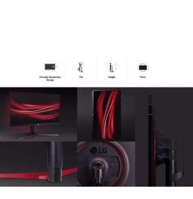 """LG monitor IPS ultragear 27GL650F 27"""" / 1920x1080 / 144Hz / 400cd/m2 / 1000:1 / 1ms / DP / HDMI"""