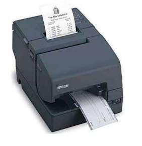 EPSON hybridní pokladní tiskárna TM-H6000IV, černá, RS232, USB - bez zdroje
