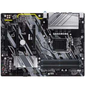 GIGABYTE MB Sc LGA1151 Z390 D, Intel Z390, 4xDDR4, VGA, ATX