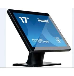 Iiyama dotykový monitor ProLite T1721MSC, 43.2 cm (17''), CAP 10-touch, black
