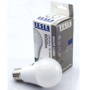 TESLA LED žárovka BULB/ E27/ 7W/ 230V/ 600lm/ 3000K/ teplá bílá