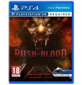 SONY PS4 hra VR Until Dawn Rush of Blood
