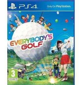 PS4 VR - Everybody´s Golf 7