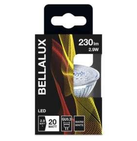 Bellalux MR16 36° 2,9W 12V 827 GU5.3 230lm 2700K (CRI 80) 15000h A+ (Krabička 1ks)