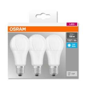 OSRAM LED BASE CL A Fros. 13W 840 E27 1521lm 4000K (CRI 80) 10000h A+ (Krabička 3ks)
