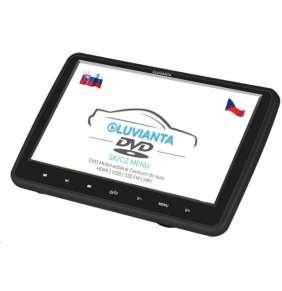 """Luvianta DVD portable, 10,1""""  HD (1280x1024), DVD přehrávač (mp4, avi, divx, mpeg, FLV, mov),SD, USB,HDMI, JACK,ovladač"""
