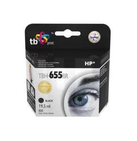 Ink. kazeta TB kompatibilní s HP 655, Black, ref.