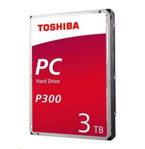 "TOSHIBA HDD P300 3TB, SATA III, 7200 rpm, 64MB cache, 3,5"""
