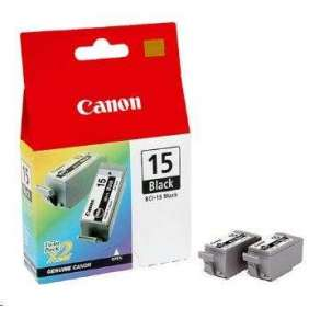 Náplň CANON BCI-15BK black i70/i80, PIXMA iP90 (2ks)