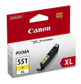 Canon BJ CARTRIDGE CLI-551XL Y