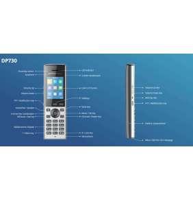 Grandstream DP730 [HD handset pro základnovou stanici DP750 / DP752]