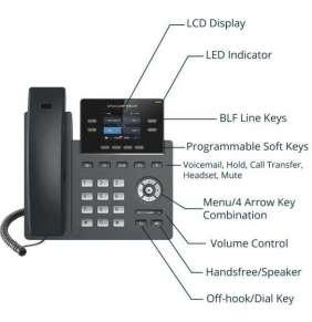 Grandstream VoIP telefon GRP2612P