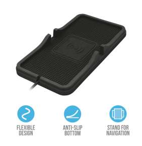 TRUST Flexo Wireless Charging Car Mat