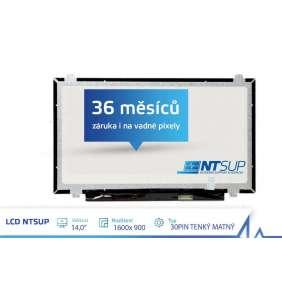 """LCD PANEL NTSUP 14,0"""" 1600x900 30PIN TENKÝ MATNÝ"""