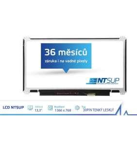 """LCD PANEL NTSUP 13,3"""" 1366X768 30PIN TENKÝ LESKLÝ"""