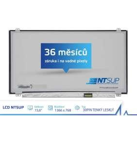 """LCD PANEL NTSUP 15,6"""" 1366x768 30PIN TENKÝ LESKLÝ"""