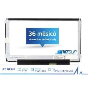 """LCD PANEL NTSUP 11,6"""" 1366x768 40PIN TENKÝ LESKLÝ"""