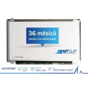 """LCD PANEL NTSUP 15,6"""" 1366x768 30PIN TENKÝ MATNÝ"""