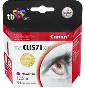 Ink. kazeta TB kompat. s Canon CLI-571XL MA Magent