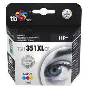 Ink. kazeta TB komp.s HP 351XL Color ref.,CB338EE