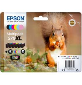 Epson Multipack 6-colours 378 XL Claria