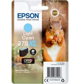 Epson Singlepack Light Cyan 378 XL Claria