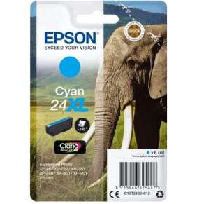 Epson Singlepack Cyan 24XL Claria Photo HD Ink