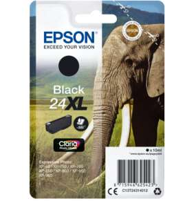 "EPSON ink čer Singlepack ""Slon"" Black 24XL Claria Photo HD Ink"