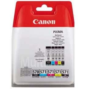 CANON BJ CARTRIDGE PGI-570/CLI-571 PGBK/C/M/Y/ BKMULTI BL w/o SEC