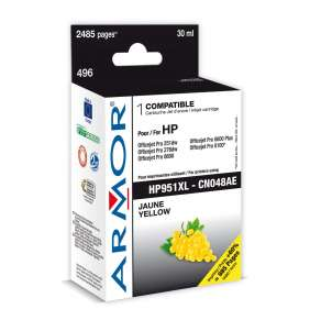 ARMOR ink-jet pre HP Officejet 8100, 8600, 2485 strán, CN048AE, žltá/yellow (HP 951XL)