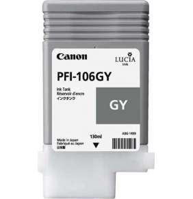Canon  Zásobník inkoustu PFI-106GY/ iPF-63xx/ Šedivá