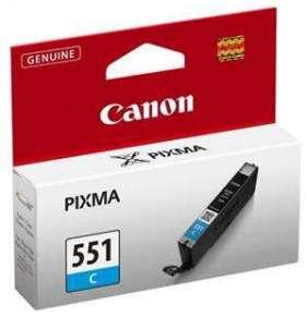 Canon CLI-551 C, azurová