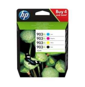 HP 903XL, atramentová náplň, pre HP Officejet Pro 6960, 6970, 825 strán, 4-pack