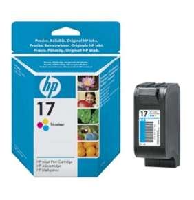 HP (17) C6625A - ink. náplň barevná, DJ 840, 845 originál