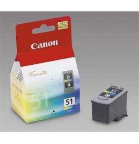 Atramentová náplň  Canon CL51 (CL-51) farba  [ 21ml, iP2200 ]