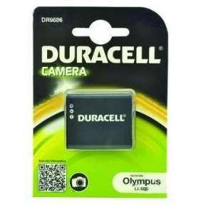 DURACELL Baterie - DR9686 pro Olympus LI-50B, černá, 770 mAh, 3.7V