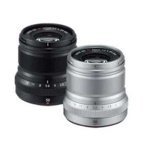 Fujifilm FUJINON XF50mm F/2 R WR - Silver