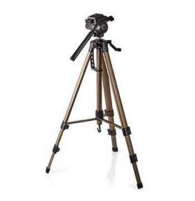Nedis TPOD2300BZ - stativ | otáčení a náklon | max. 3,5 kg | 161 cm | černá / stříbrná