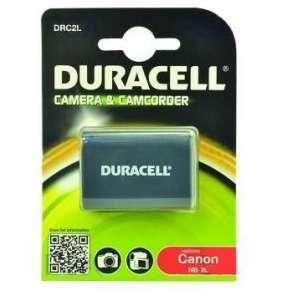 DURACELL Baterie - DRC2L pro Canon NB-2L, černá, 650 mAh, 7.4 V