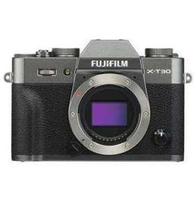 Fujifilm X-T30 - 26,1 MP - Grey