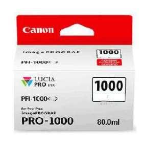 Canon inkoustová náplň PFI-1000 (photo grey, 80ml) pro Canon imagePROGRAF PRO-1000