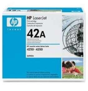 HP 42A Black LJ Toner Cart, 10 000 str, Q5942A