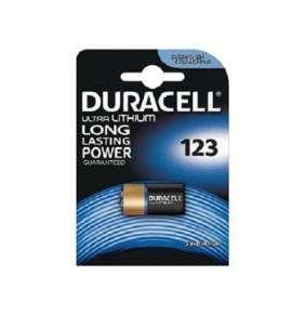DURACELL Baterie - Baterie do digitálního fotoaparátu Rollei DL123 Battery, 3V, 500 mAh (Rechargeable)