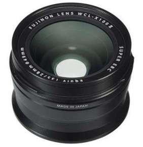 Fujifilm FUJINON WCL-X100 II Wide Angle Lens Black