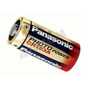 Nenabíjecí fotobaterie CR123A Panasonic Lithium 1ks Blistr