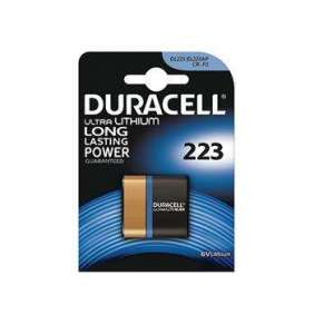 DURACELL Baterie - DL223A 223 6V Lithium Battery