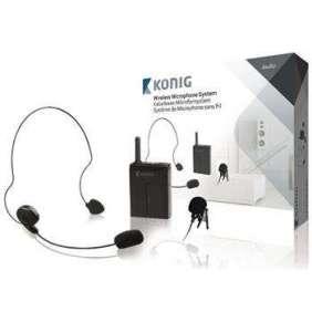 König KN-MICW631 - mikrofon bezdrátový Bodypack, 16 kanálů, pro KN-MICW611/621