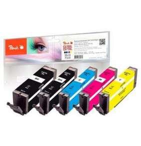 PEACH kompatibilní cartridge Canon PGI-570XL/CLI-571XL MultiPack, bk, pbk, c, m, y