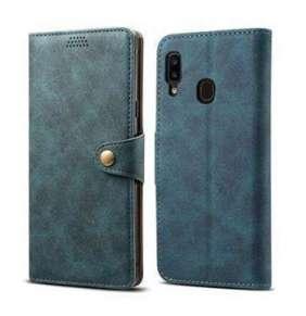 Lenuo Leather na Samsung Galaxy A20e Blue