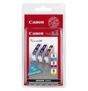 Canon BJ CARTRIDGE CLI-8 C/M/Y Multi pack